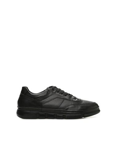 Divarese Divarese 5023742 Deri Bağcıklı Erkek Ayakkabı Siyah